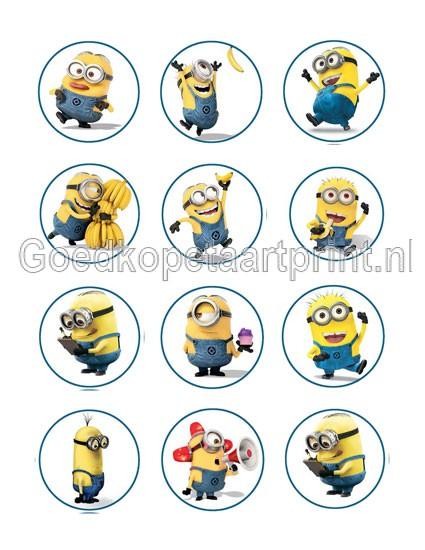 Minions cupcake 4