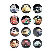 Cars cupcake 1