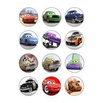 Cars cupcake 3