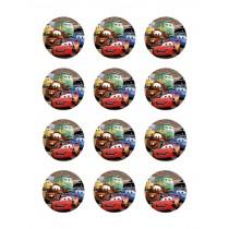 Cars cupcake 7