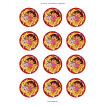 Dora cupcake 1