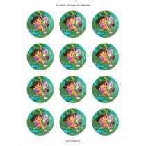 Dora cupcake 3