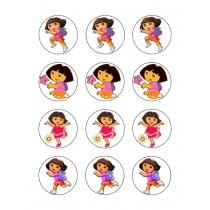 Dora cupcake 4