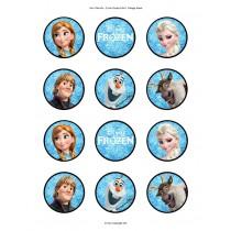 Frozen cupcake 8