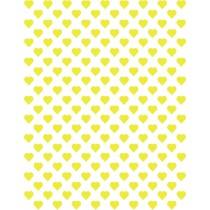 Hartjes geel klein