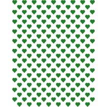 Hartjes groen klein