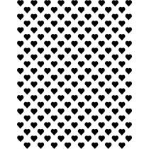 Hartjes zwart klein