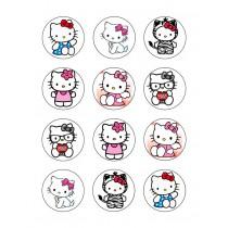 Hello kitty cupcake 3