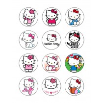 Hello kitty cupcake 4