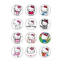 Hello kitty cupcake 4