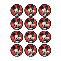 Mickey mouse cupcake 4