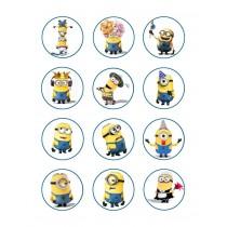 Minions cupcake 2