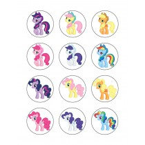 My Little Pony cupcake 8