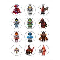 Lego cupcake 8