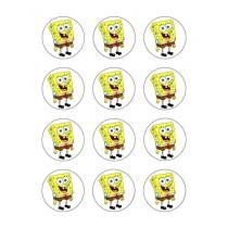 spongebob cupcake 2
