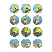 spongebob cupcake 3