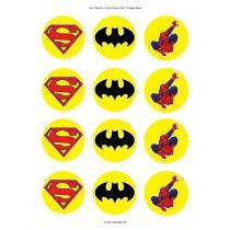 Superhelden cupcake 5