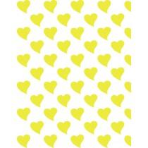 Hartjes geel groot
