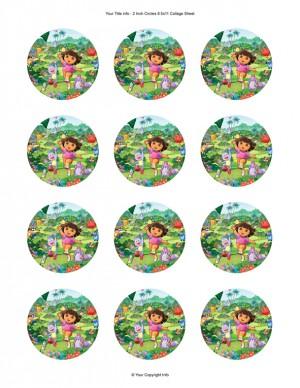 Dora cupcake 2