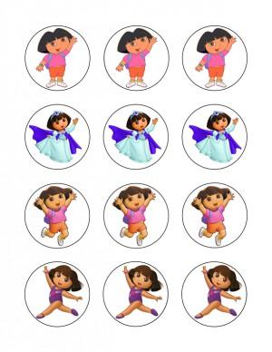 Dora cupcake 5